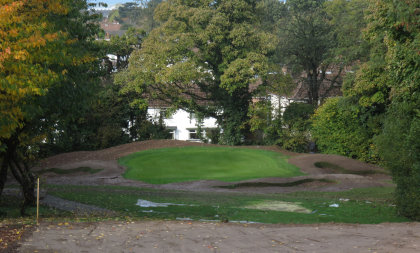 Swan Golf Designs re-bunkering work at Holywood Golf Club