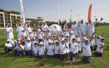 Abu Dhabi launches ground-breaking 5-year free grassroots golf programme