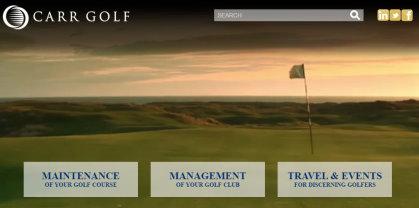 Carr Golf Website