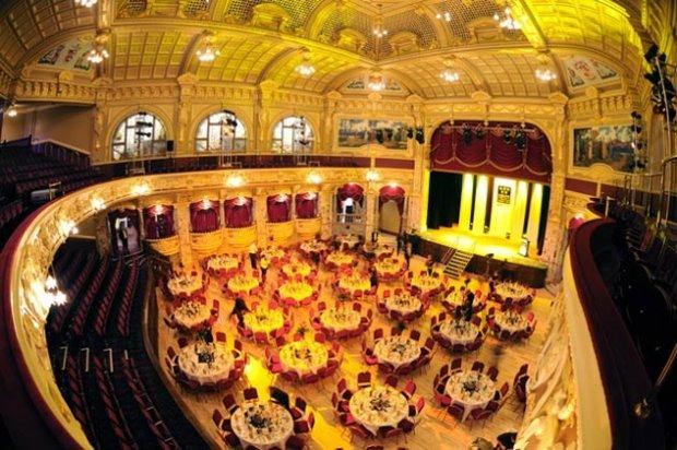 The spectacular Royal Hall, Harrogate