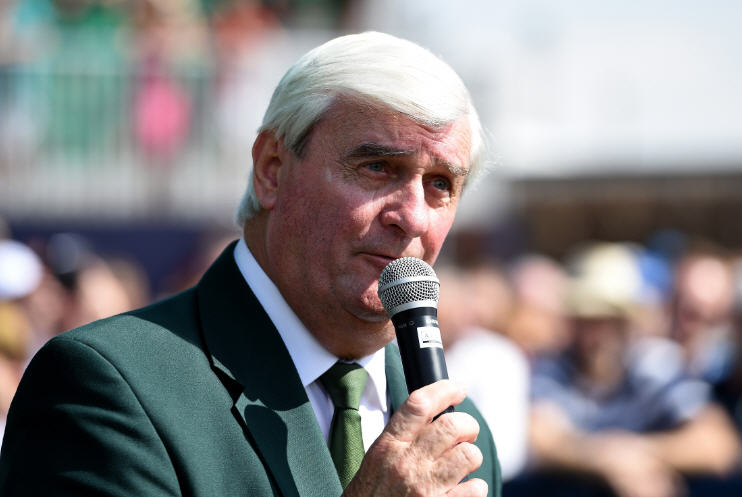 Ivor Robson, Official Starter to The European Tour and The Open for the past 41 years, has retired (Getty Images)