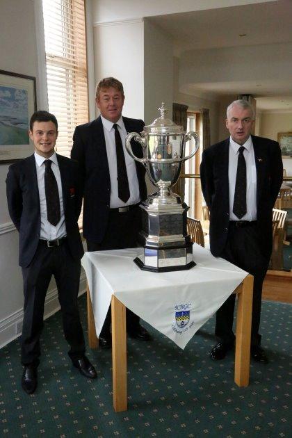 Jack McDonald, Gordon Sherry and Jim Milligan