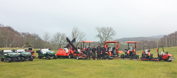 Molle's new fleet supplied by local dealer GVM of Malmo