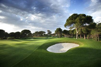 Montgomerie Maxx Royal Golf Club 15th hole