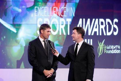 Padraig Harrington, Event Ambassador and Shane O'Donoghue, MC Irish Youth Foundation 26th Excellence in Sport Awards