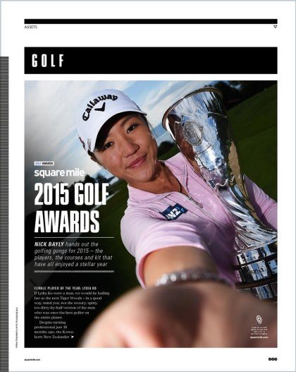 Square Mile Golf Awards issue