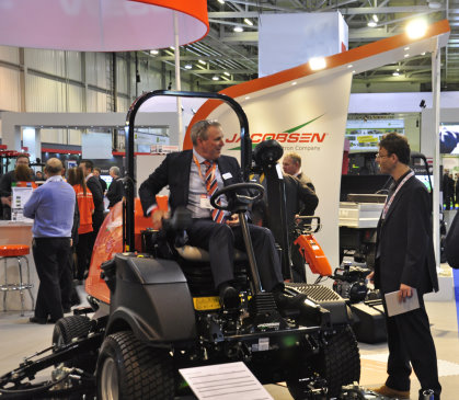 Jacobsen President David Withers during his interview with Alistair Dunsmuir of 'Greenkeeping'