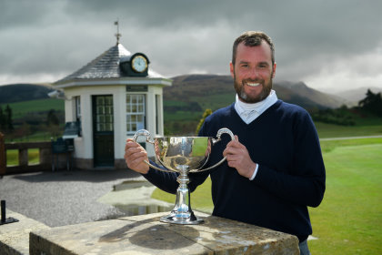 Chris Kelly (unattached) Winner of The Gleneagles Scottish PGA Championship With a total of 139, beating Paul McKechnie (Braid hills Golf Range) in a play off.