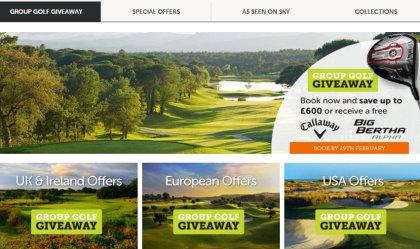 Golfbreaks Spring offers