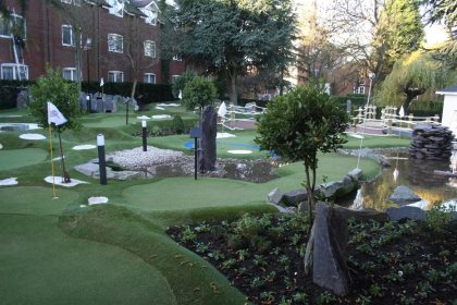 Ryder Cup Legends Mini Golf Course at The Belfry
