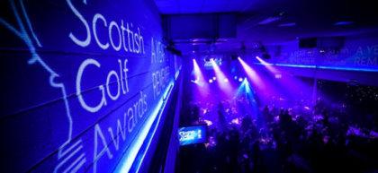 Scottish Golf Awards, Friday 11 March 2016 at Edinburgh Corn Exchange