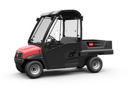 Toro's GTX, a new utility vehicle boasting higher levels of power, comfort and control, launched on the Lely – Partners in Turfcare stand at BTME