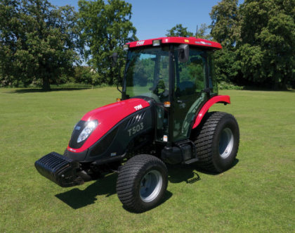 The T503 represented TYM Tractors at BTME
