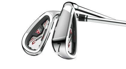 C200™ irons designed to dramatically improve distance and accuracy for the mid-to-high handicap player