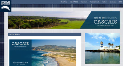 WorldCorporate Golf Challenge website