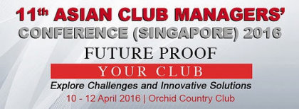 Asian Club Managers Conference banner