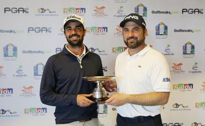 2016 Golfbreaks.com Fourball Championship Winners, Gerard Piris Mateu & Ivo Giner (PGA of Spain)