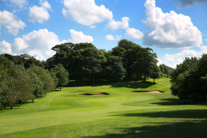 The 12th hole at the Dave Thomas-designed Oulton Hall Golf Course