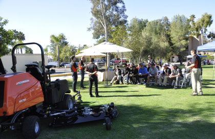 The Product Demonstration event at Rancho Bernardo Golf Course