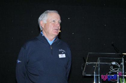 Callaway Golf Chief Club Designer Roger Cleveland discussed 'Wedgeducation' at the TGI Golf Business Conference.