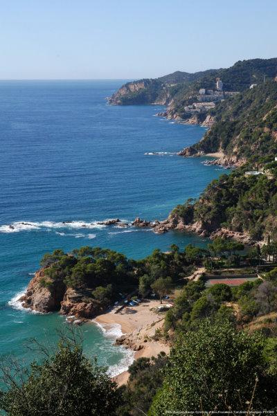 Costa Brava's rugged coast