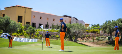 The Aegean Airlines Pro-Am takes place at Costa Navarino in Greece (courtesy of www.papadakispress.gr)