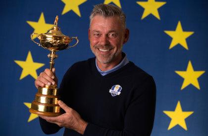 European captain Darren Clarke (Photo by Richard Heathcote/Getty Images)