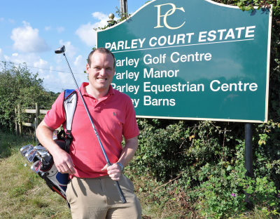 Daryl Dampney, manager of Parley Golf Centre