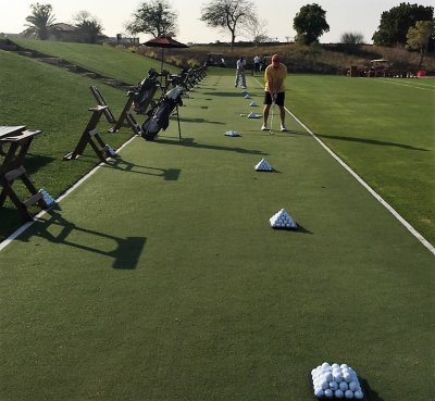 Huxley Golf Installation at Jumeirah Golf Estates