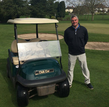 Nigel Onions, Head Professional at Wolstanton Golf Club, has increased profits and operational capabilities at his venue, with two Club Car vehicles