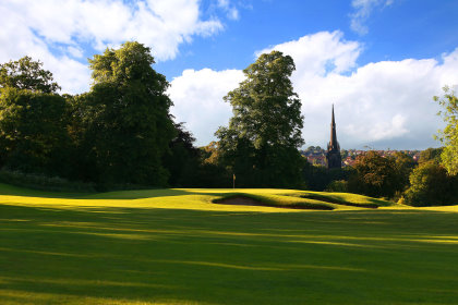 Oulton Hall Golf Course, near Leeds in West Yorkshire