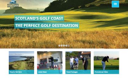 Scotlands Golf Coast screengrab