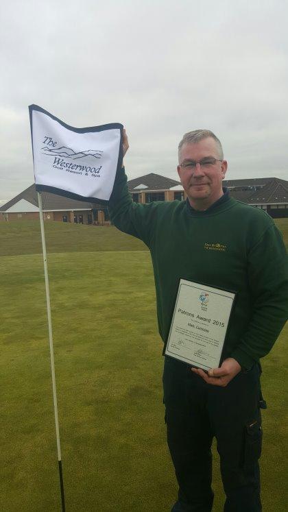 Westerwood greenkeeper Mark Cummine