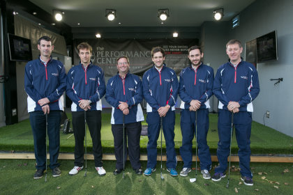 The team at World of Golf's hi-tech Performance Centre