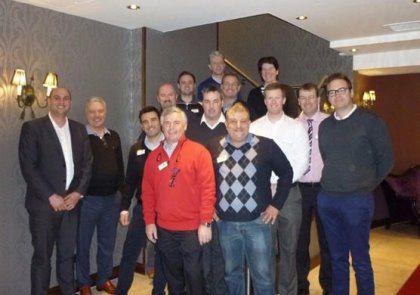 The delegates at the MDP 2 programme in Dublin