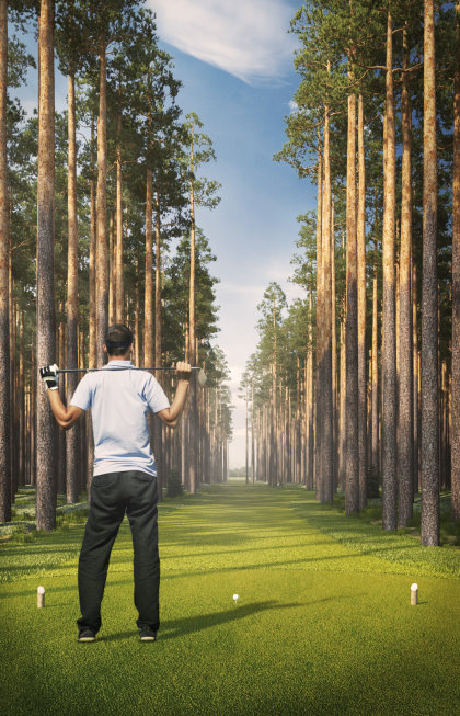The narrowest fairway in the world