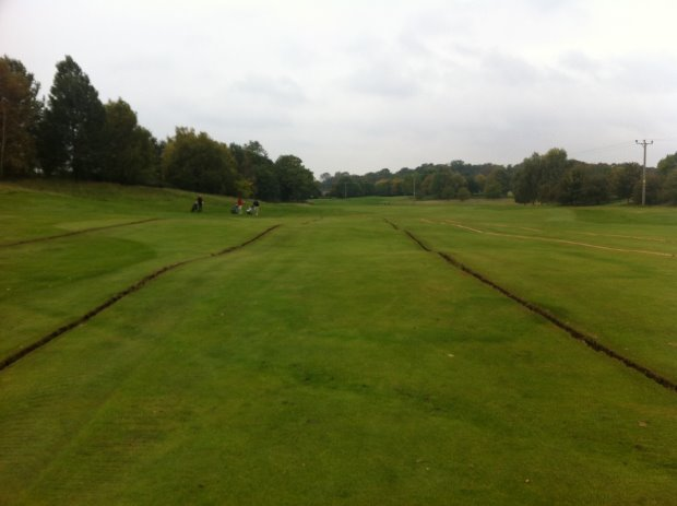 3rd Fairway Undulations Castle Royle