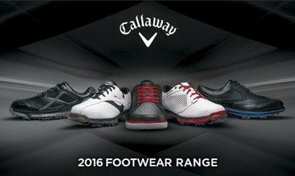 Callaway Footwear range 2016