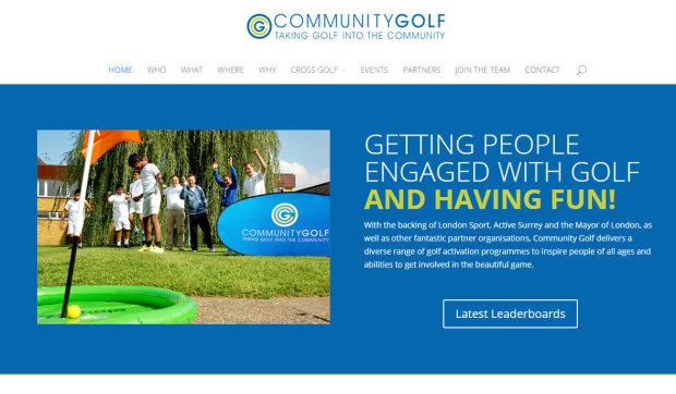 Community Golf Website