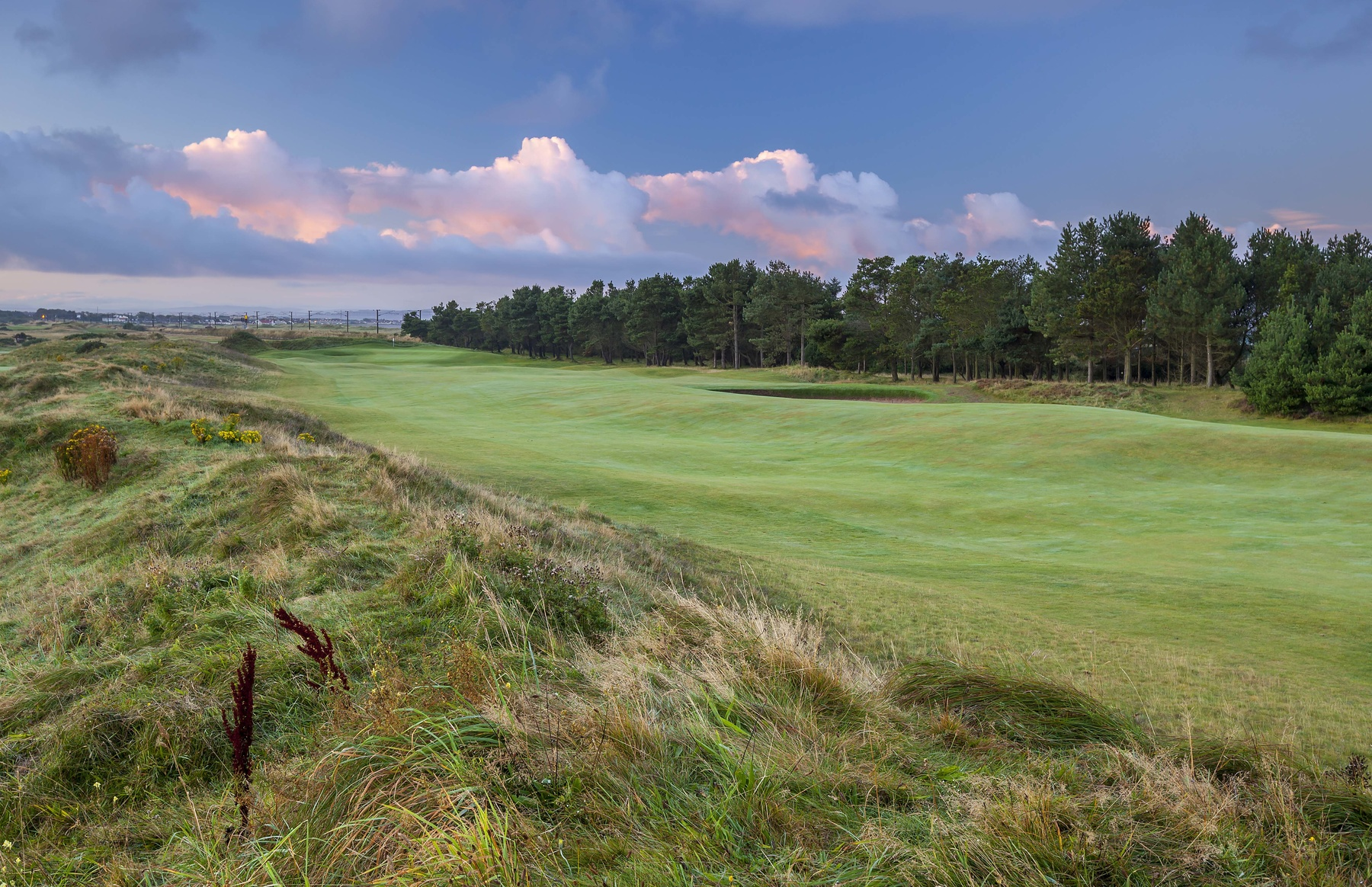 16th hole at Dundonald Links (photo by Mark Alexander)