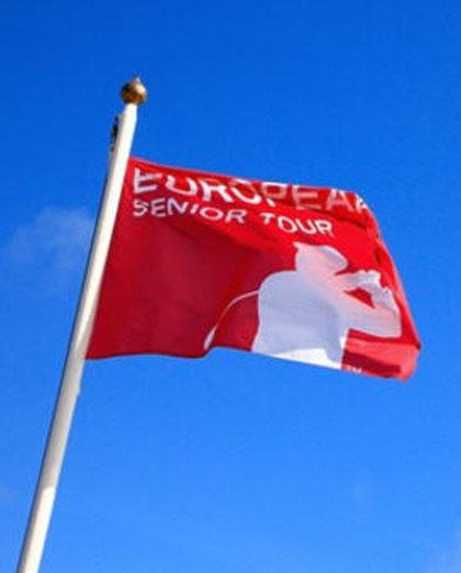 European Senior Tour flag (Getty Images)