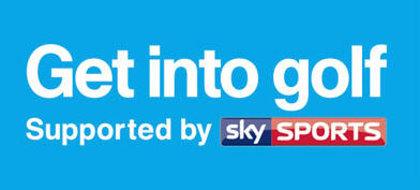 Get into Golf Sky Sports sponsor