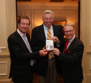 George O'Grady, Peter Oosterhuis and Keith Pelley