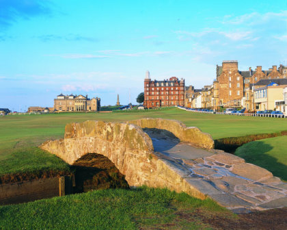 The Old Course at St Andrews, the first Open Venue to become GEO Certified