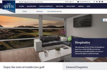 www.TheOpen.com/Hospitality