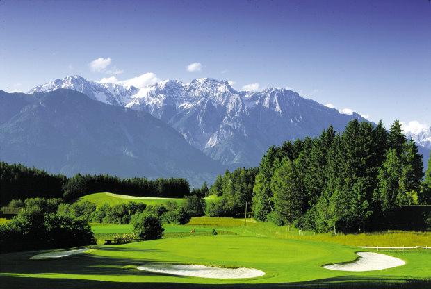Parkhotel-Igls Golfplatz