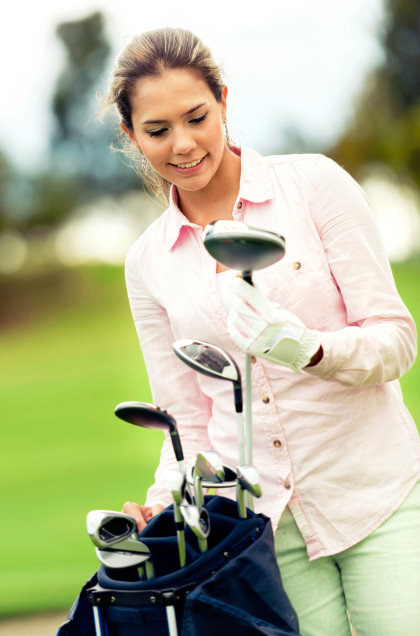 Choosing a golf club
