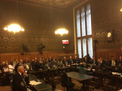 Parliamentary Golf Group meeting in progress