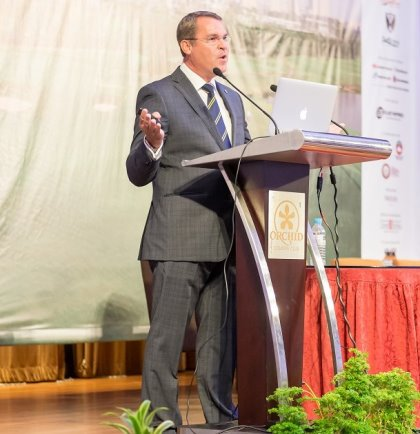 Sentosa's Andy Johnston at Asian Club Managers Conference