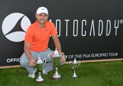 2015 PGA EuroPro Tour Order of Merit winner, Jordan Smith